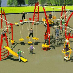 مجموعه بازی تور و طناب کودک