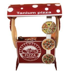 دکه پیتزا بازی مشاغل کودک