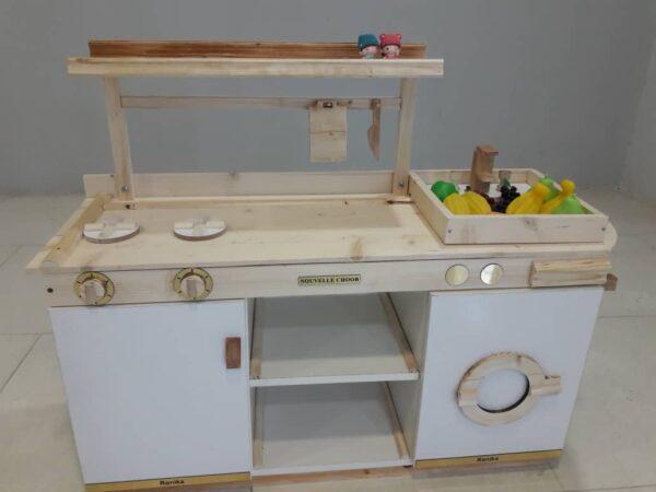 ست آشپزخانه چوبی